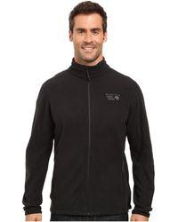 Mountain Hardwear - Microchill 2.0 Jacket (shark) Men's Long Sleeve Pullover - Lyst