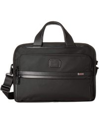 Tumi Alpha 3 Triple Compartment Brief Luggage - Black