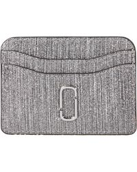 Marc Jacobs - Snapshot Glitter Stripe New Card Case - Lyst