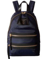 Marc Jacobs Biker Nylon Backpack - Blue