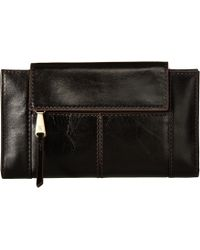 Hobo - Pivot (black) Continental Wallet - Lyst