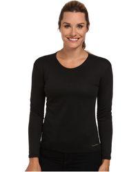 Hot Chillys Bi-ply Crewneck T Shirt - Black