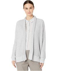 Eileen Fisher - Peruvian Organic Cotton Kimono Cardigan - Lyst