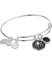 ALEX AND ANI - Duo Charm Bangle Bracelet - Lyst