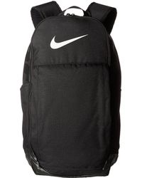 4c38e285b259 Nike - Brasilia Extra Large Backpack (midnight Navy black white) Backpack  Bags