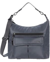 Hedgren Luna Convertible Eco-friendly Hobo/shoulder - Gray