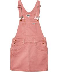 Wrangler Modern Short Overall - Pink