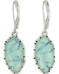 The Sak | Irregular Stone Drop Earrings | Lyst