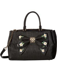 Betsey Johnson | Daisy'd & Confused Bow Satchel | Lyst