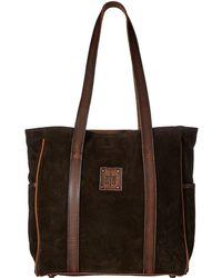 STS Ranchwear - Heritage Tote (chocolate Suede/tornado Brown) Tote Handbags - Lyst