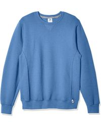 Russell Athletic Dri-power Fleece Sweatshirt - Blue