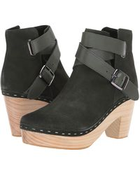 Free People Bungalow Clog Boot - Green