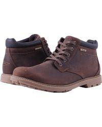 Rockport Rugged Bucks Waterproof Boot - Brown