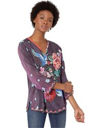 0ac257c90ad21 Johnny Was - Zahra Top (multi A) Women s Clothing - Lyst