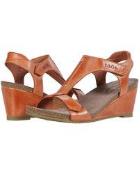 Taos Footwear Sheila - Orange