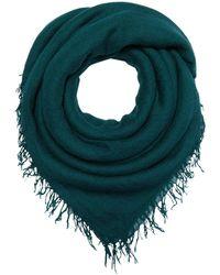Chan Luu Cashmere Silk Solid Scarf Scarves - Blue