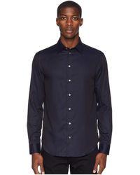Emporio Armani - Camicia Shirt (fant Pois) Men's Clothing - Lyst