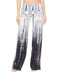 Hard Tail - Contour Rolldown Wide Leg Pants (lizard Ombre 1) Women's Clothing - Lyst