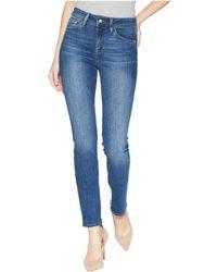 Mavi Jeans - Kendra High-rise Straight Leg In Indigo Supersoft - Lyst
