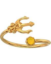 ALEX AND ANI Trident Ring Wrap - Precious Metal - Metallic