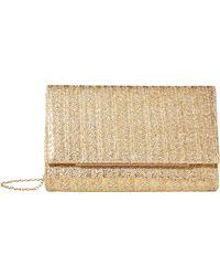 Jessica Mcclintock Nora Clutch Handbags - Brown