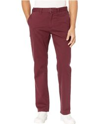 Huf Sutter Pants (port Royale) Casual Pants - Red