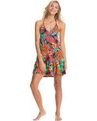 Maaji Wild River Linn Short Dress Cover-up Swimwear - Pink