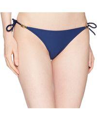 Heidi Klein - Core Rope Tie Side Bottom (navy) Women's Swimwear - Lyst