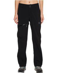 Mountain Hardwear Stretch Ozonic Pant Outerwear - Black