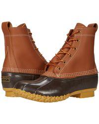 L.L. Bean 8 Bean Boots - Brown