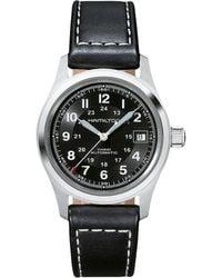 Hamilton - Khaki Field - H70455733 (black) Watches - Lyst