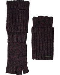 AllSaints Twisted Half Cardigan Gloves - Multicolor