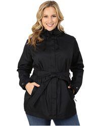 Columbia - Plus Size Pardon My Trenchtm Rain Jacket (black) Women's Coat - Lyst