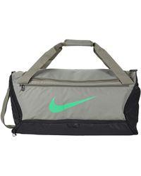 Nike Brasilia Medium Duffel - 9.0 - Gray