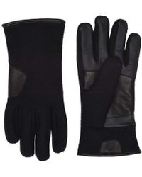 UGG - Fabric Leather Tech Gloves (charcoal) Extreme Cold Weather Gloves - Lyst