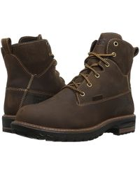 385a546e93e Lyst - Timberland Pro Euro Hiker Alloy Toe Work Boot in Brown
