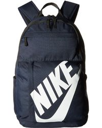Nike - Sportswear Elemental Backpack (obsidian black white) Backpack Bags -  Lyst a5d2932b9d31b