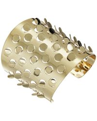 Alexis Bittar - Grater Cuff Bracelet (10k Gold) Bracelet - Lyst