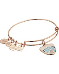 ALEX AND ANI - Charity By Design, Healing Takes Love Charm Bangle - Lyst
