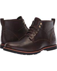 8b01c852578 Timberland Leather Kendrick Waterproof Chukka in Black for Men - Lyst