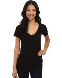 Lamade V-pocket Tee - Tissue Jersey - Black