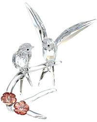 Swarovski Swallows Figurine - Multicolor