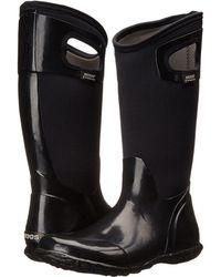Bogs - North Hampton Solid (black) Women's Rain Boots - Lyst