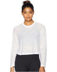 Lorna Jane - Layla Long Sleeve Top (white) Women's Clothing - Lyst