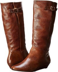Steven by Steve Madden - Intyce (cognac Leather) Women's Pull-on Boots - Lyst