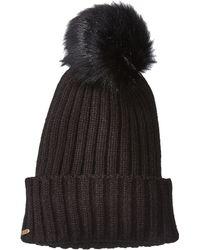 San Diego Hat Company - Knh3476 Beanie With Pom Pom (black) Beanies - Lyst