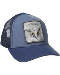 e7da84570f4 Goorin Bros - Animal Farm Snap Back Trucker Hat (brown Beaver) Caps - Lyst