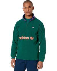 adidas Originals - 1/2 Zip Fleece - Lyst