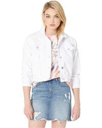 Volcom Fix It Denim Jacket (white) Coat