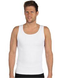 Spanx - Zoned Performance Tank (white) Men's Underwear - Lyst